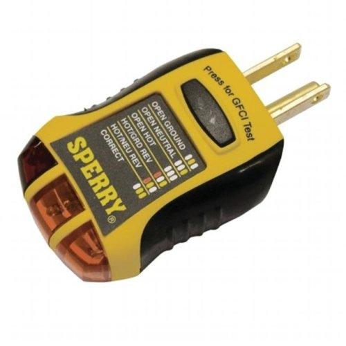 Gb-Gardner Bender Gfi6302 Tester Gfci Outlet Spe GFI6302