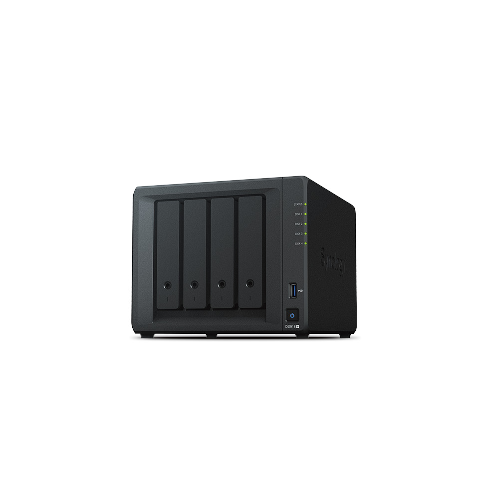 Synology DiskStation DS918+ | 4 Bay Storage Server