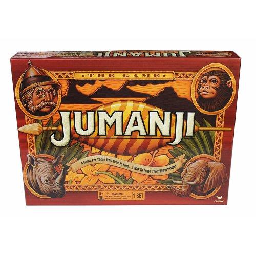Jumanji 1995 Movie Family Board Game