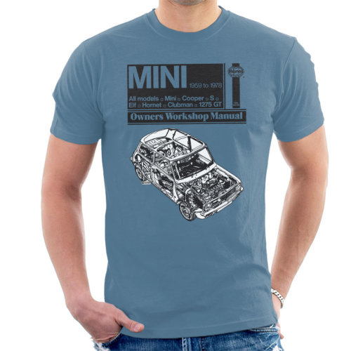 Haynes Men's 1959 Mini Workshop Manual T-Shirt