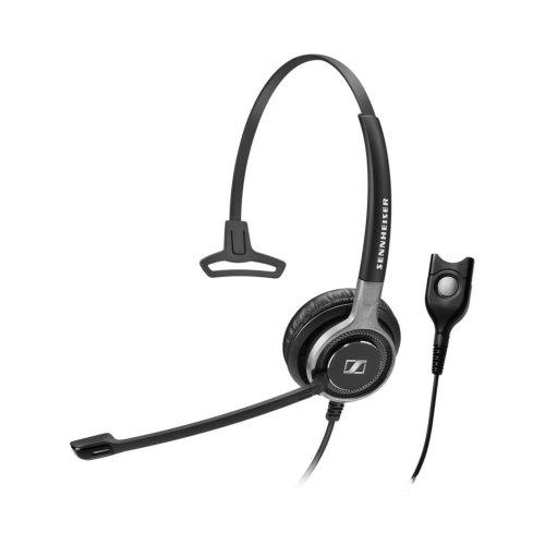 Sennheiser SC 630 Monaural Head-band Black,Silver headset