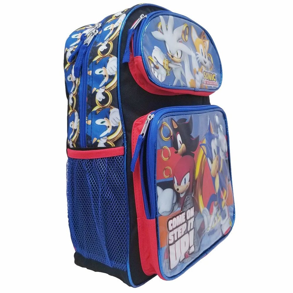 "Sonic the Hedgehog/"" Come On Step It UP!!/"" Mini 10 inches Backpack"