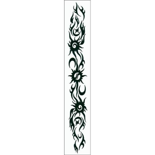 Costumes For All Occasions DE196 Tattoo Starry Armband