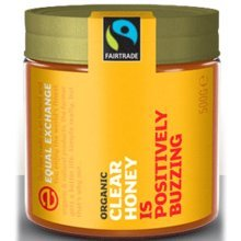 Equal Exchange Fairtrade & Organic Honey - Clear 500g