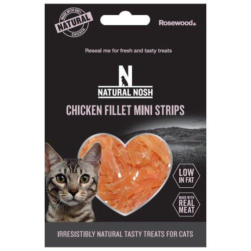 Natural Nosh Chicken & Duck Fillet Mini Strips/Chicken & Cheese Duo Bites