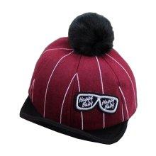 [Glasses Red] Stylish Baby Woolen Cap Kids Warm Winter Baseball Cap