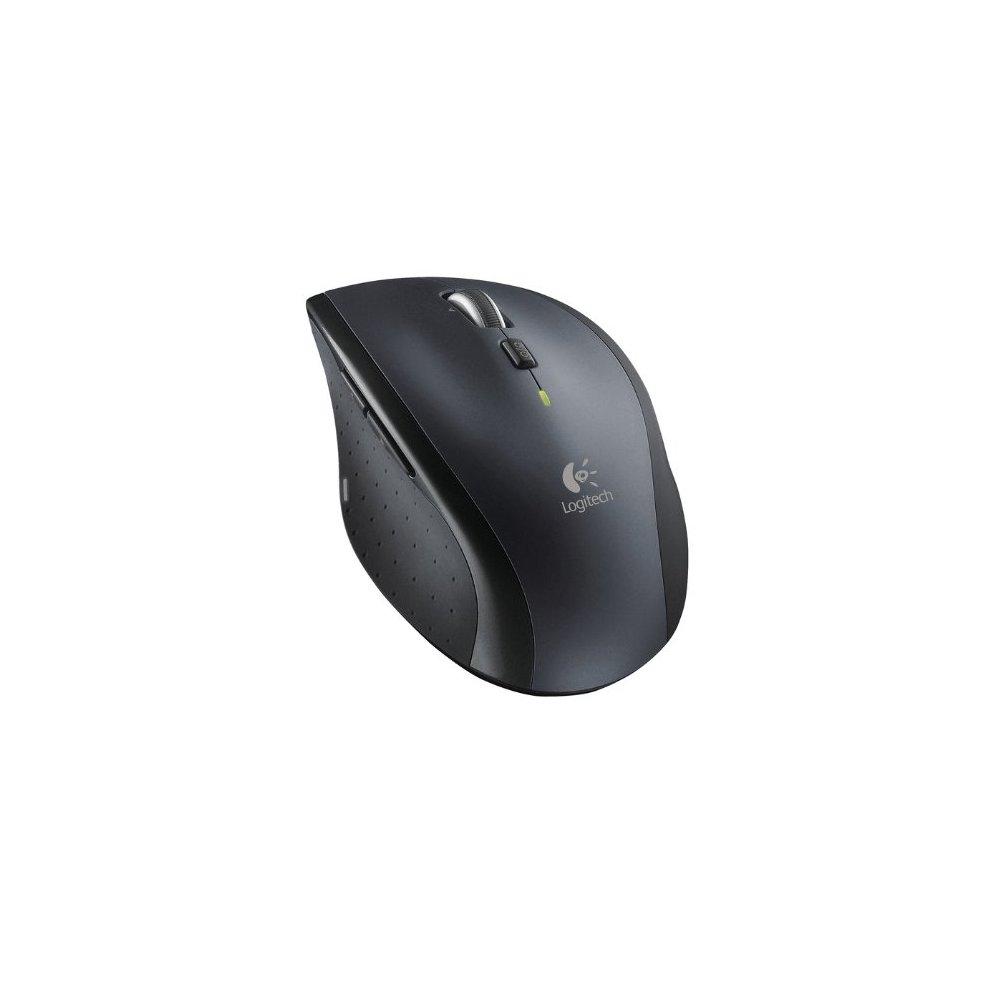 Logitech Marathon M705 Wireless Laptop Computer Mouse - Black