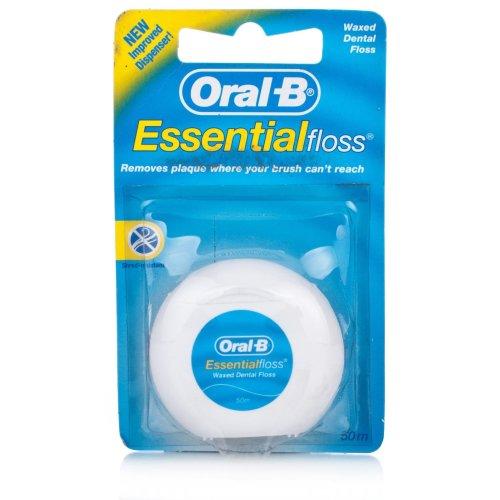 Oral-B Essential Waxed Dental Floss 50m