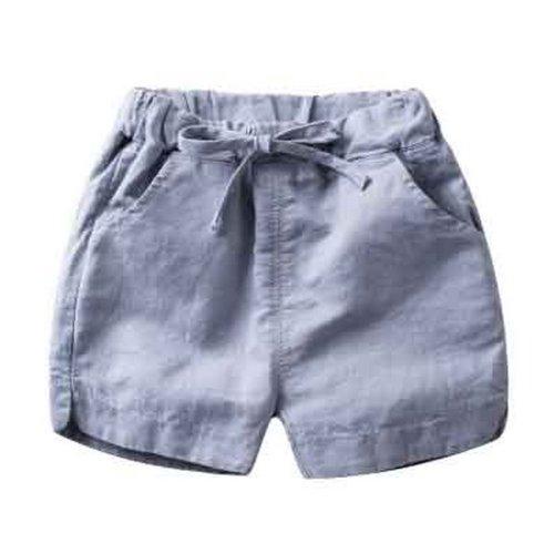 Baby Boy Short Pants Cute Short Pants for Summer Suitable for 130cm [H]