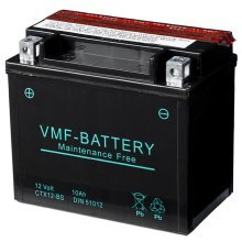 VMF Powersport Liquifix Battery 12 V 10 Ah MF YTX12-BS