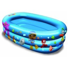 Inflatable Baby Pool - 75cm Floor Kids Outdoor Garden Water Game Toddler Infant -  75cm inflatable floor baby pool kids outdoor garden water game