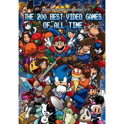 Hardcore Gaming 101 Presents: The 200 Best Games of All Time (B&W Edition)