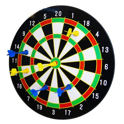 "16"" Magnetic Dart Board with 6 Darts"