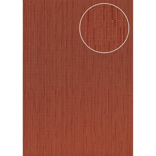 Atlas COL-497-7 Unicolour wallpaper shimmering brown-red wine-red 5.33 sqm