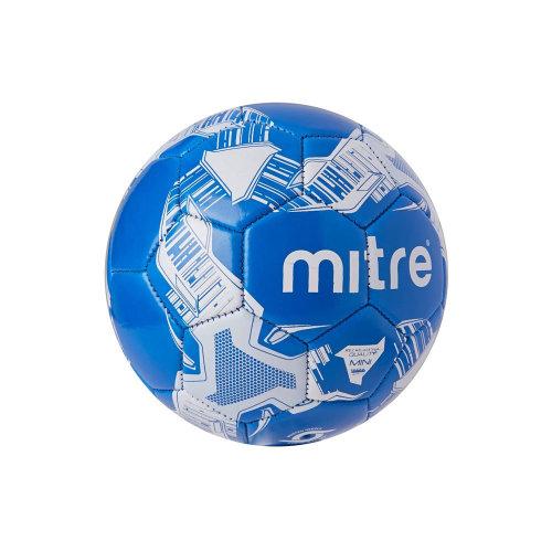 Mitre Flare Mini Training Skills Football Soccer Ball Blue - Size 1