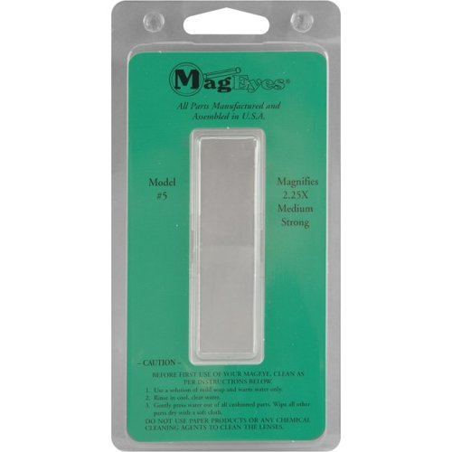 MagEyes Magnifier Lens-#5 (2.25x)