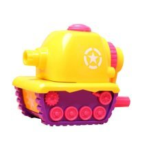 Manual Pencil Sharpener For Home or the Classroom - Tank Shape Design