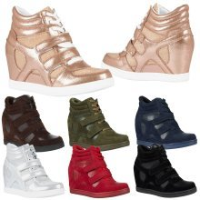 Thea Womens Hidden Wedge Trainers