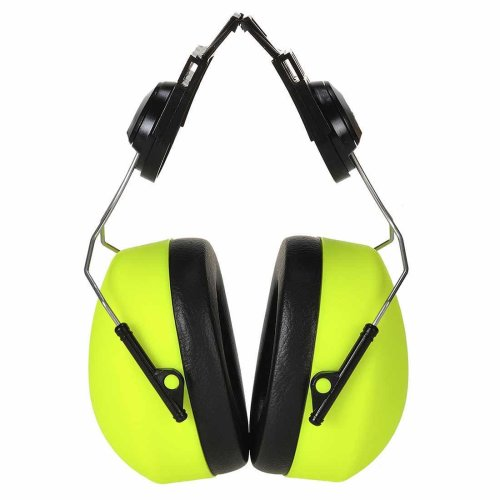 sUw - Clip-on HV Ear Protector Defenders Muffs Yellow Regular