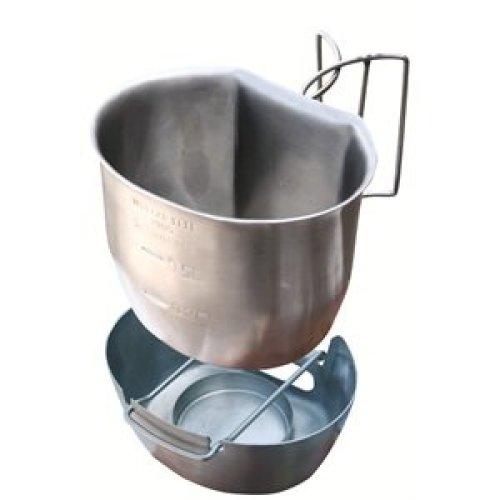 BCB CN007S Crusader Cup & Cooker Silver