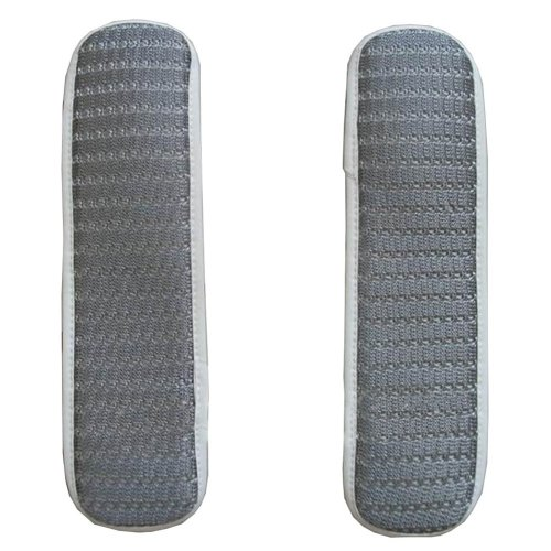[Stripe Gray] Soft Chair Armrest Covers Armrest Pads for Chair
