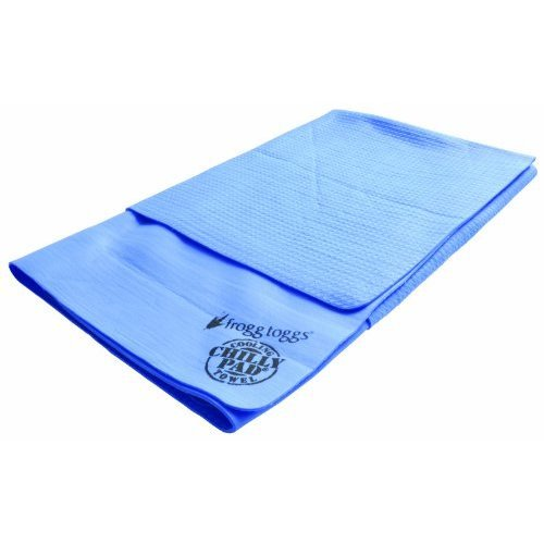 Frogg Toggs Scp200 Super Chilly Pad Extra Large Cooling Towel 33 Length X 25 Width Sky Blue
