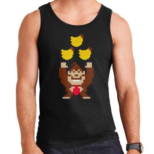 Bananas Pixel Art Donkey Kong Men's Vest