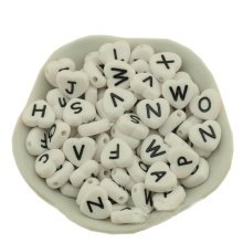 Acrylic Letter A-Z Beads for DIY Ornaments by Hand