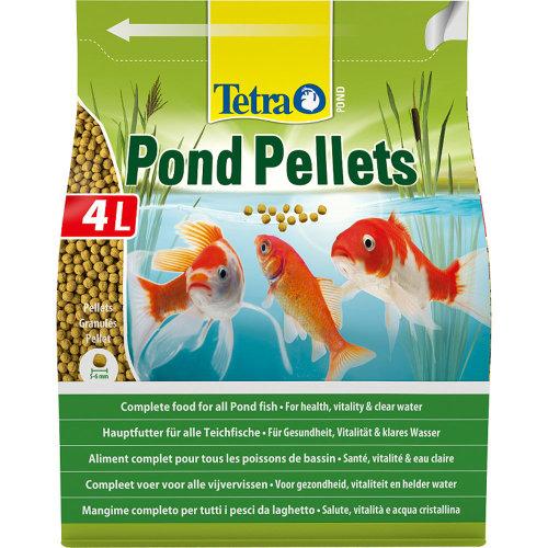 Tetra Pond Floating Food Pellets Medium 1030g (4 Litre)