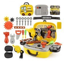 Portable toy Repair Tool Box for Children Kids 29 PCS