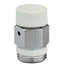 "1/8"" 1/4"" 3/8"" Caleffi Manual Radiator Air Vent Bleed Plug Valve No Need Key"