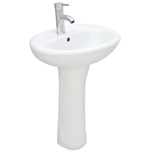 Pacific Wash Basin & Pedestal