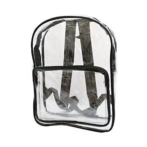 Xtitix Clear Backpack Bag With Black Handle