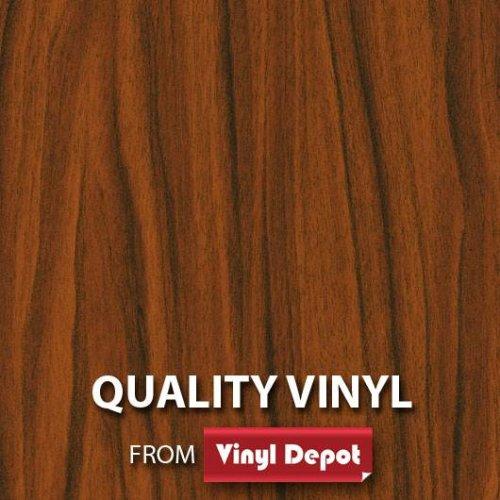 d-c-fix Sticky Decor Self-Adhesive Wood Vinyl Film Walnut Golden 900mm/m