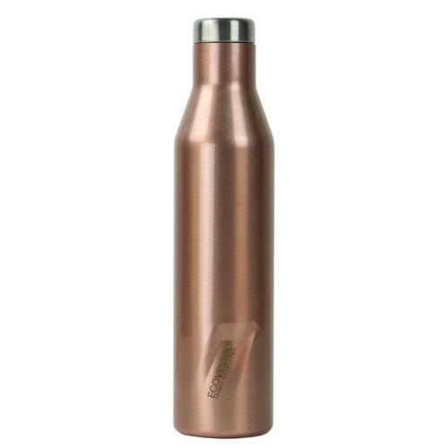 Ecovessel Aspen 750ml Hot Cold Drinks Water Wine Bottle Rose Gold