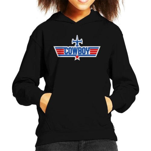 Cowboy Bebop Top Gun Mix Kid's Hooded Sweatshirt