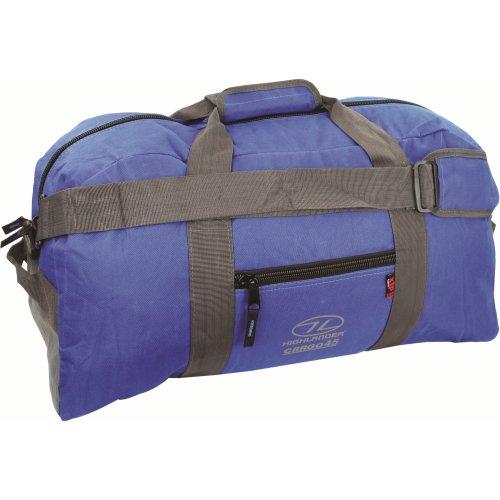 45l Blue Cargo Holdall Bag -  cargo highlander 45 bag holdall blue litre travel shoulder