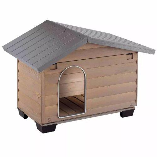 Ferplast Doghouse Canada 2 Grey 78x57x65 cm 87020000