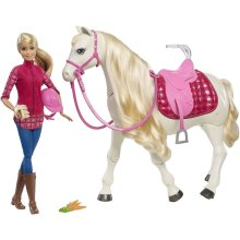 Barbie Dream Horse and Doll FRV36