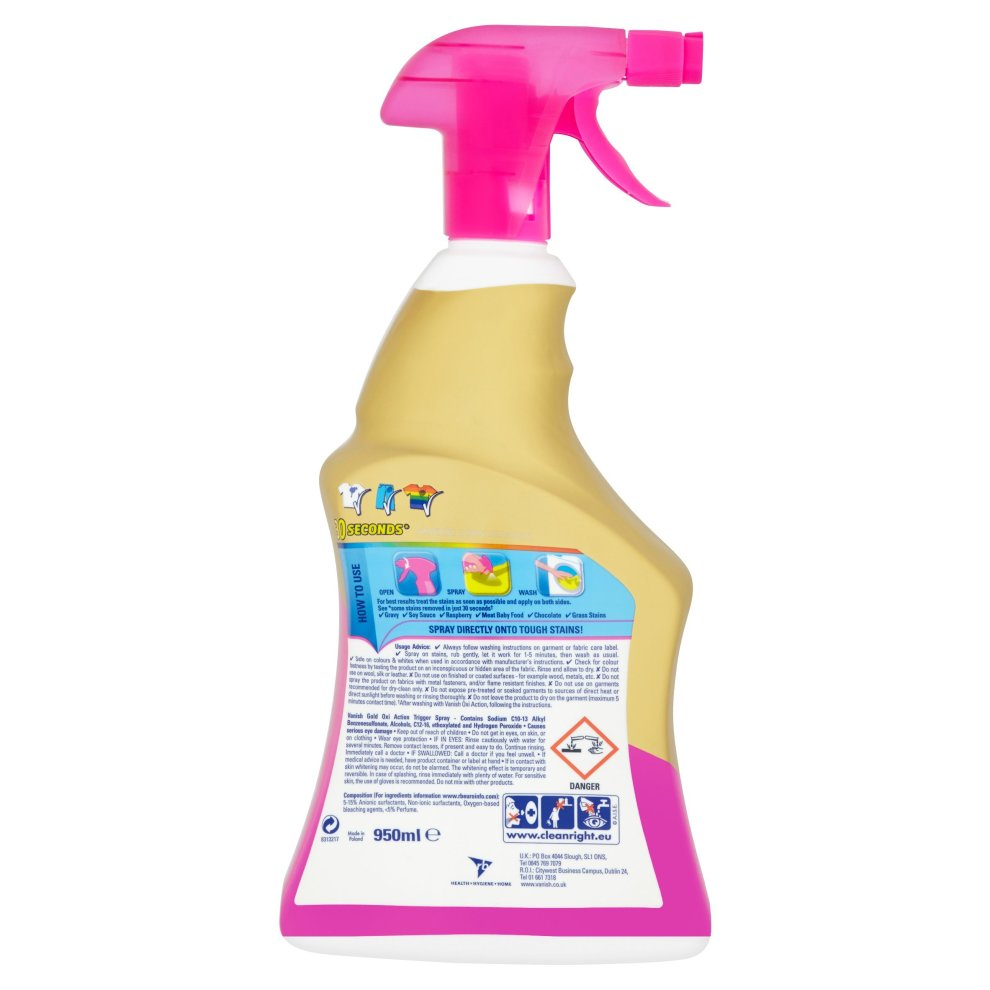 Vanish Oxi Action Carpet And Upholstery Cleaner Spray