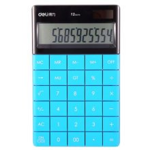 PC-Key Solar Energy Dual Power Calculator Scientific Calculators Blue
