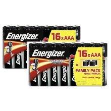32 x Energizer AAA Alkaline Power LR03 Batteries