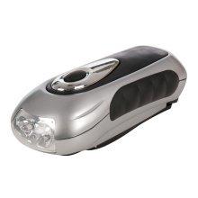 140mm LED Wind Up Torch - 3 Silverline Wind 839905 -  led torch 3 silverline windup 839905