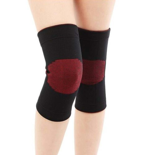 Sport Knee Compression Support Sleeve Knee Pads Knee Protector Brace(Pair), A6