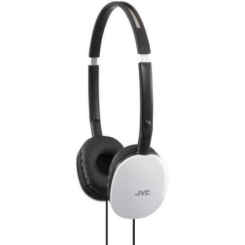 JVC HA-S160-W Flats Foldable Style Stereo Headphone - White