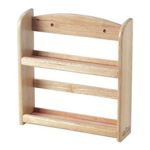 Wooden Wood Kitchen Spice Herb Bottle Jar Wall Rack Storage Holder 2 or 3 Tier