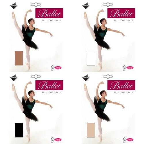 Silky Girls Dance Ballet Tights Full Foot (1 Pair)
