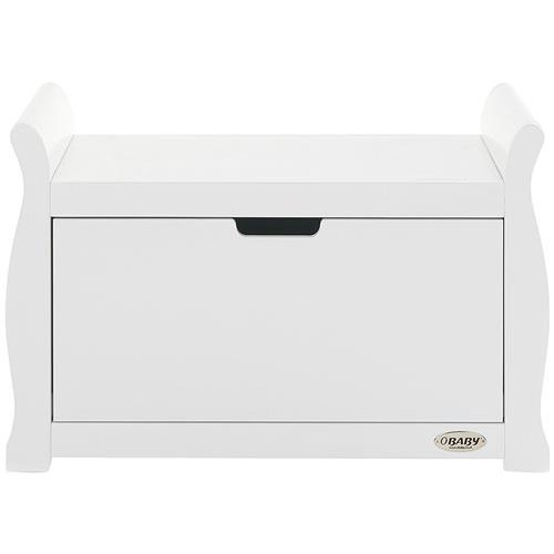 Stamford Sleigh Toy Box - White