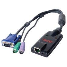 APC KVM-PS2 Black KVM cable