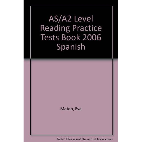 AS/A2 Level Reading Practice Tests Book 2006 Spanish on OnBuy